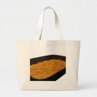 Grand Tote Bag Crêpe de farine de pois chiche dans un plateau
