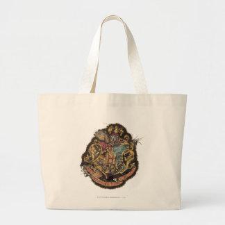 Grand Tote Bag Crête vintage de Harry Potter | Hogwarts