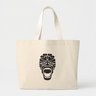 Grand Tote Bag cri perçant terrifiant