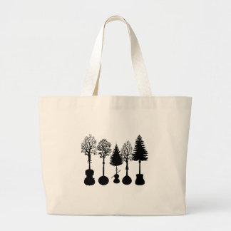 Grand Tote Bag Croissance musicale