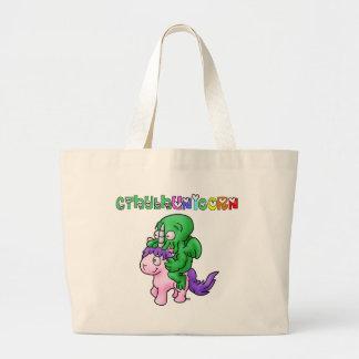 Grand Tote Bag CthulhUnicorn - Jeux de Mots - Francois Ville
