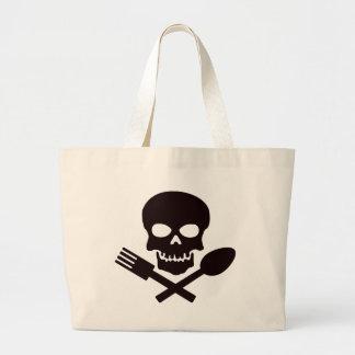 Grand Tote Bag Cuisinier de pirate