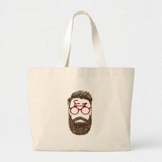 Grand Tote Bag Cycliste de hippie
