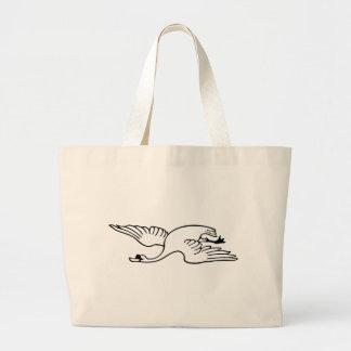 Grand Tote Bag Cygne de vol