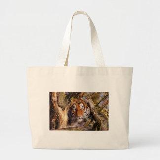 Grand Tote Bag Dangereux de cachette prédateur de fourrure de