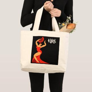 Grand Tote Bag Danseur Fourre-tout de flamenco