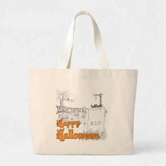 Grand Tote Bag DÉCHIRURE de Halloween