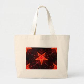 Grand Tote Bag démon au néon