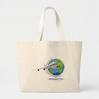 Grand Tote Bag Déplacement dans le monde entier