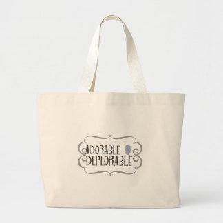 Grand Tote Bag Déplorable adorable
