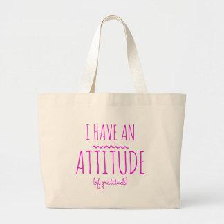 Grand Tote Bag Désintoxication aa de récupération de gratitude