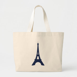 Grand Tote Bag Dessin de Tour Eiffel