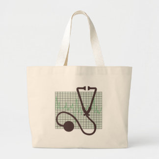 Grand Tote Bag Diagramme médical