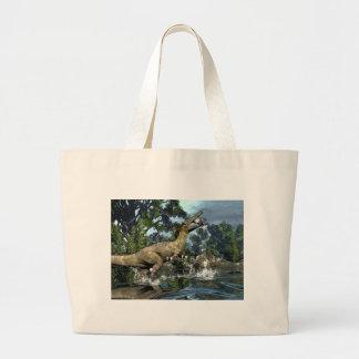 Grand Tote Bag Dinosaure d'Austroraptor