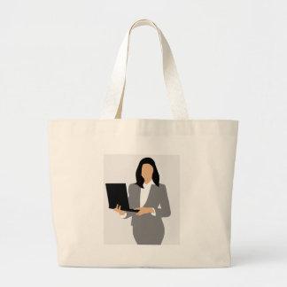 Grand Tote Bag Directeur de femme