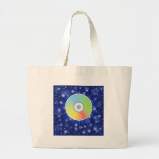 Grand Tote Bag disque coloré
