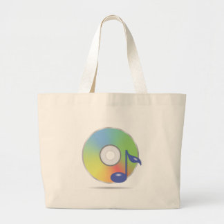 Grand Tote Bag disque compact