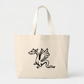 Grand Tote Bag dragon de bébé