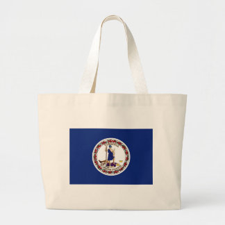 Grand Tote Bag Drapeau de la Virginie
