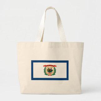 Grand Tote Bag Drapeau de la Virginie Occidentale
