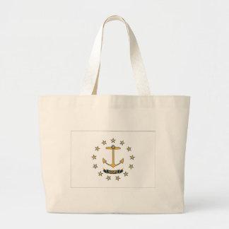 Grand Tote Bag Drapeau d'Île de Rhode