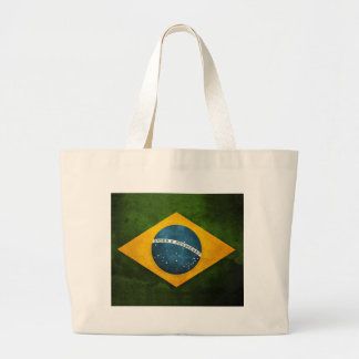 Grand Tote Bag Drapeau du Brésil