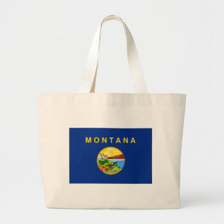Grand Tote Bag Drapeau du Montana