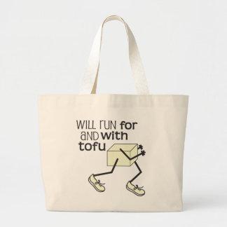 Grand Tote Bag © drôle de coureur de TOFU