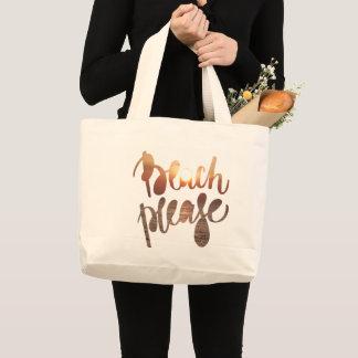 Grand Tote Bag ÉCHOUEZ SVP la typographie d'amusement de | et