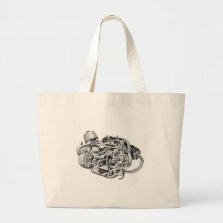 Grand Tote Bag Écorché d'habitué de la marijuana