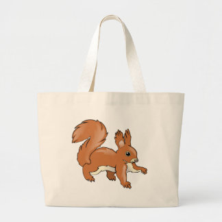 Grand Tote Bag Écureuil