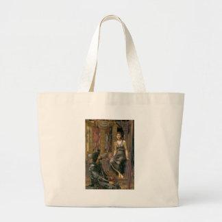 Grand Tote Bag Edouard - le Roi Cophetua et la domestique de