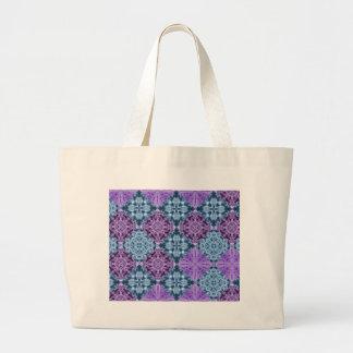 Grand Tote Bag Édredon de hippie de Boho