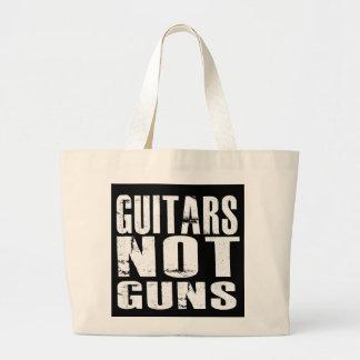 Grand Tote Bag Éléphant Fourre-tout d'armes à feu de guitares pas