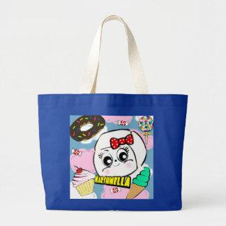 Grand Tote Bag Éléphant Fourre-tout de Marshmella