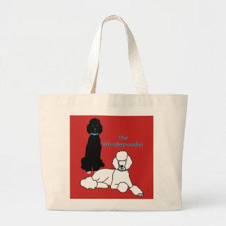 Grand Tote Bag Éléphant Fourre-tout de Wonderpoodles
