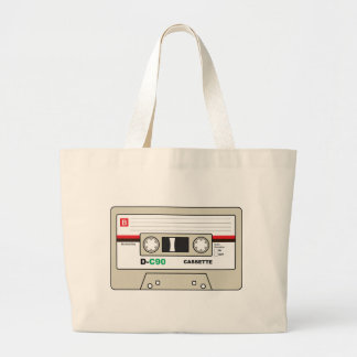 Grand Tote Bag Enregistreur à cassettes