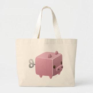 Grand Tote Bag Enroulez le porc