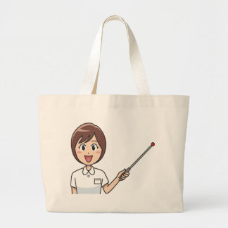 Grand Tote Bag Enseignement de femme