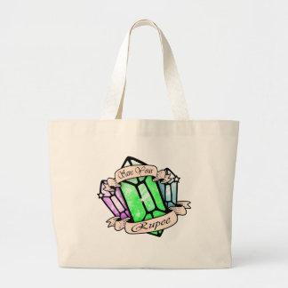 Grand Tote Bag Épargnez votre roupie