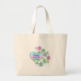 Grand Tote Bag Étincelles de chant