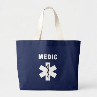 Grand Tote Bag Étoile de médecin de la vie