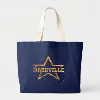 Grand Tote Bag Étoile de Nashville