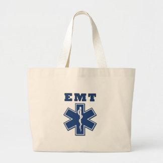 Grand Tote Bag Étoile d'EMT de la vie