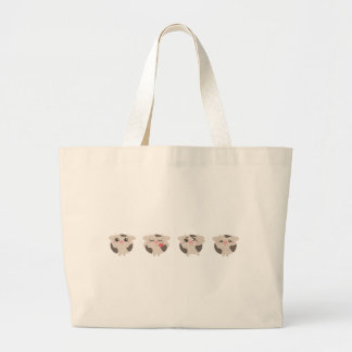 Grand Tote Bag farm emojis - cow