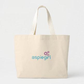 Grand Tote Bag Femme d'Aspiegirl avec Aspergers