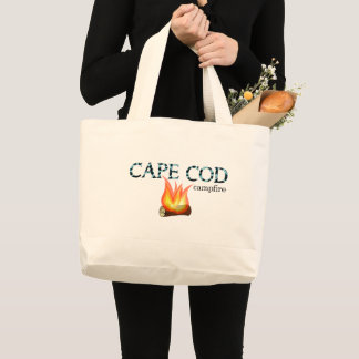 Grand Tote Bag Feu de camp Fourre-tout de Cape Cod