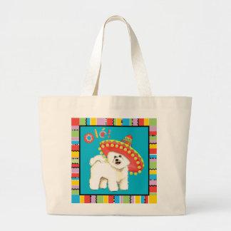 Grand Tote Bag Fiesta Bichon