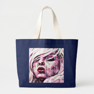 Grand Tote Bag Fille rose Fourre-tout