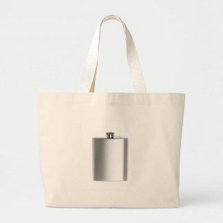 Grand Tote Bag Flacon de hanche d'acier inoxydable